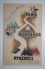 TOURISME VIN Bordeaux PYRENEES Espagne Hotels COGNAC Gastronomie CARTE ROUTE