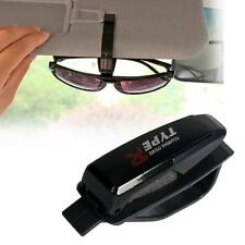 Sun Visor Sunglass Eye Glass Card Pen Holder Clip Car Vehicle Accessory Black KJ