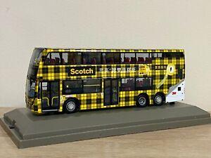 1:76 *Scotch Tape Adv* Kowloon Motor Bus Alexander Dennis Enviro500MMC Bus Model