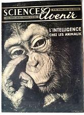 SCIENCES ET AVENIR 10/1953; L'intélligence chez les animaux/ Salon Automobile