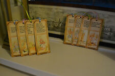 8 Handmade Gift Tags ~ Beatrix Potter~Peter Rabbit Story ~  Book Marks