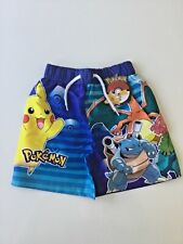 Pokemon Board Shorts - Age 3-10 Years - Free 1st Class Same Day Postage