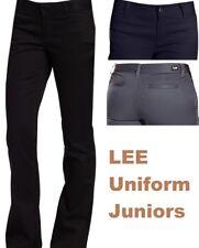 Lee Jeans Girls Uniforms Juniors Pants Original Skinny Leg Pant 4 Pockets New Nt