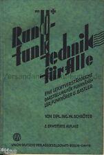 Lerano radio tecnica per tutti i rivenditori Radio Ricevitore & HOBBISTI 1935 Radio