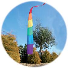 Spirit of Air Rainbow Festival Bannière 3.75 M drapeau Kit, Jeu & Pole-Camping