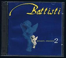 LUCIO BATTISTI PENSIERI, EMOZIONI 2 - 2 CD F.C.