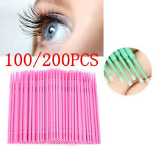 Disposable Beauty Makeup Kits Glue Remover Tool Mini Swab Mascara Brush