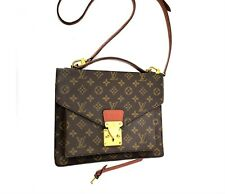 LOUIS VUITTON LV MONCEAU 28 Pochette Metis Crossbody Bag Monogram Strap 55908731