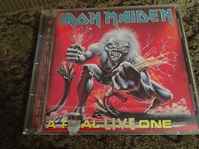 IRON MAIDEN - A REAL LIVE ONE CD 1993  CAPITOL METAL