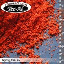 PAPRIKA FORTE SPE 90 asta x1kg PAPFO250.C20B1.90S Busta in alluminio da 1 kg. Ca
