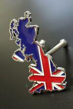 Union Jack UK 3D Car Truck Auto Front Grille Badge Metal Decal Emblem England
