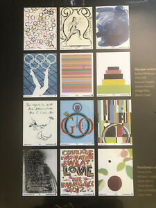 LONDON 2021 OLYMPICS Boxed Set Limited Edition Official Posters x 12 ed 251/2012