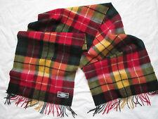 -Superbe Foulard   Echarpe AUTHENTIC LINE   laine  TBEG  vintage scarf