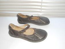 Josef Siebel ~ Art to Wear ~ Brown Mary Jane Flat Easywear Shoes ~ 39