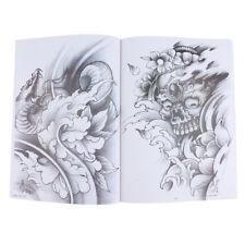 70Pages Dragon Crane Tattoo Flash Art Designs Manuscrit Sketch Line Book