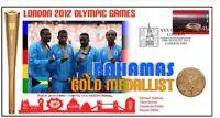BAHAMAS 2012 OLYMPIC 4x400m RELAY TEAM GOLD MEDAL COV