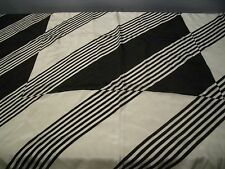 """VINTAGE LIZ CLAIBORNE STRIPED 100% SILK SCARF WITH HAND ROLLED EDGE 30"""" SQUARE"""