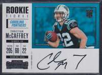 2017 PANINI CONTENDERS ROOKIE TICKET VARIATION RPS CHRISTIAN MCCAFFREY AUTO RC
