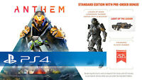 Anthem DLC Legion of Dawn Armor/Weapon Bonus Content! (PS4) Pre Order Bonus