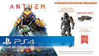 Anthem DLC Legion of Dawn Armor/Weapon Bonus Content! (PS4) Pre Order Bonus