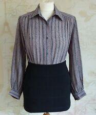 be8bcd37925962 Vintage Retro 70 s-40 s WWII Landgirl Goodwood Revival Secretary Shirt  Blouse 10