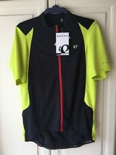 Pearl Izumi XXL Pursuit Jersey new with tags black red yellow reflective.