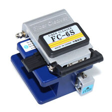 Optical Fiber Cleaver FC-6S High Precision Cut Cutting Wlan Network FTTH Tool