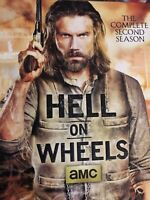 Hell on Wheels: The Complete Second Season (DVD, 2013, 3-Disc Set)