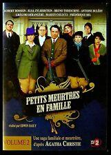 Dvd : Petits meurtres en famille - Agatha Christie - Ep 3 & 4