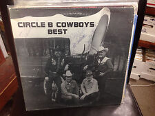 Circle B Cowboys BEST vinyl LP Private Press Rare SD Country SIGNED