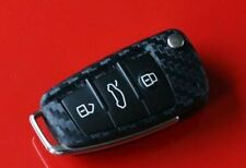 Audi TTs TTrs B7 8J R8 V10 5,2 V8 4,2 S3 RS3 S4 clé decor key decor carbon optic