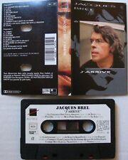 JACQUES BREL  (K7 AUDIO)  J'ARRIVE  Vol 6