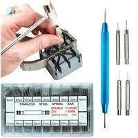 Watch Band Spring Bar Tool Kit - Hammer Punch Pusher Strap Holder 360 Link Pins