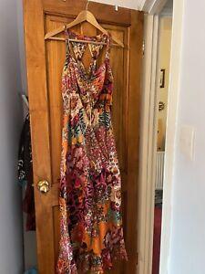 Gorgeous Floaty Maxi Dress from Nomads Clothing.  Size M.