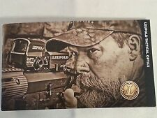 Leupold Tactical Optics Catalog Booklet 39 Pages NEW SEAL DEVGRU NSW SOF