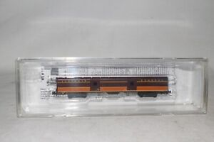 MTL Z SCALE #553 00 020 ILLINOIS CENTRAL PASSENGER BAGGAGE CAR, NICE, BOXED #3