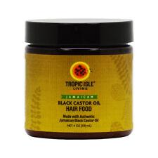 Tropic Isle Living Jamaican Black Castor Oil Hair Food 4oz w/Free Nail File