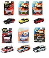1/64 Johnny Lightning 1990 Honda CRX Diecast Model Car Different Colors
