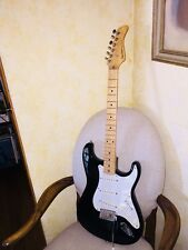 1990 FERNANDES LE-1 Black Strat Guitar MIJ Great Shape L@@k