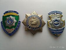 Mix Obsolete Police Polizei Ukraine Breast Badge Personal SHIELD Plate Militia