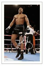 ANTHONY JOSHUA BOXING SIGNED AUTOGRAPH PHOTO PRINT