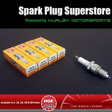 Standard Spark Plugs by NGK - Stock #2015 - BPR2ES-S - Solid Tip - 4 Pack
