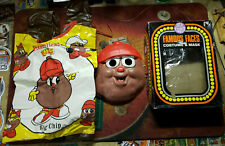 Rare Vintage 1980's Ben Cooper Halloween Costume Mr. Potato Head Kids Big Chip