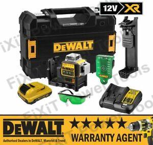 DeWalt DCE089D1G 12v 2.0Ah Li-Ion Self Level Multi Line Box Laser Green NEW