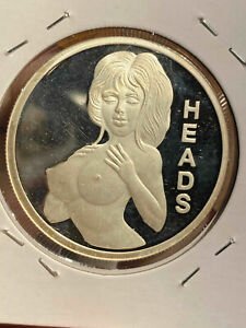 Heads and Tails 1 oz Fine Silver Round X50