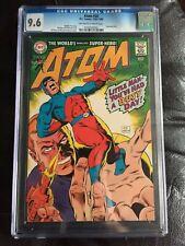 ATOM #34 CGC NM+ 9.6; OW-W; Gil Kane cvr/art; Time Pool story (1/68)!