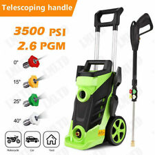 3500PSI 2.6GPM Electric Pressure Washer High Power Cold Water Washing Cleaner@us