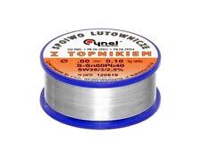 Bobine fil à souder 0,5mm 100g 60% étain 40% plomb soudure soudage électronique