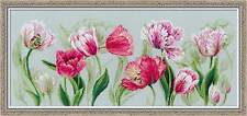 """Counted Cross Stitch Kit RIOLIS 100/052 - """"Spring tulips"""""""