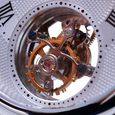 SS 1-Min.Real Flying Tourbillon watch silver